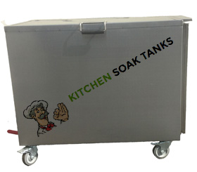 New Kitchen Soak Tanks